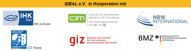 Logos der Event-Kooperationspartner